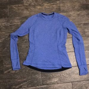Lululemon long sleeve size 10 Blue